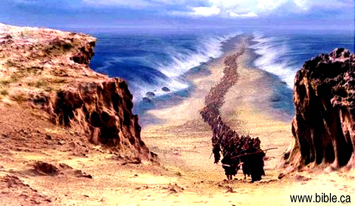 The Exodus Route: Crossing the Red Sea