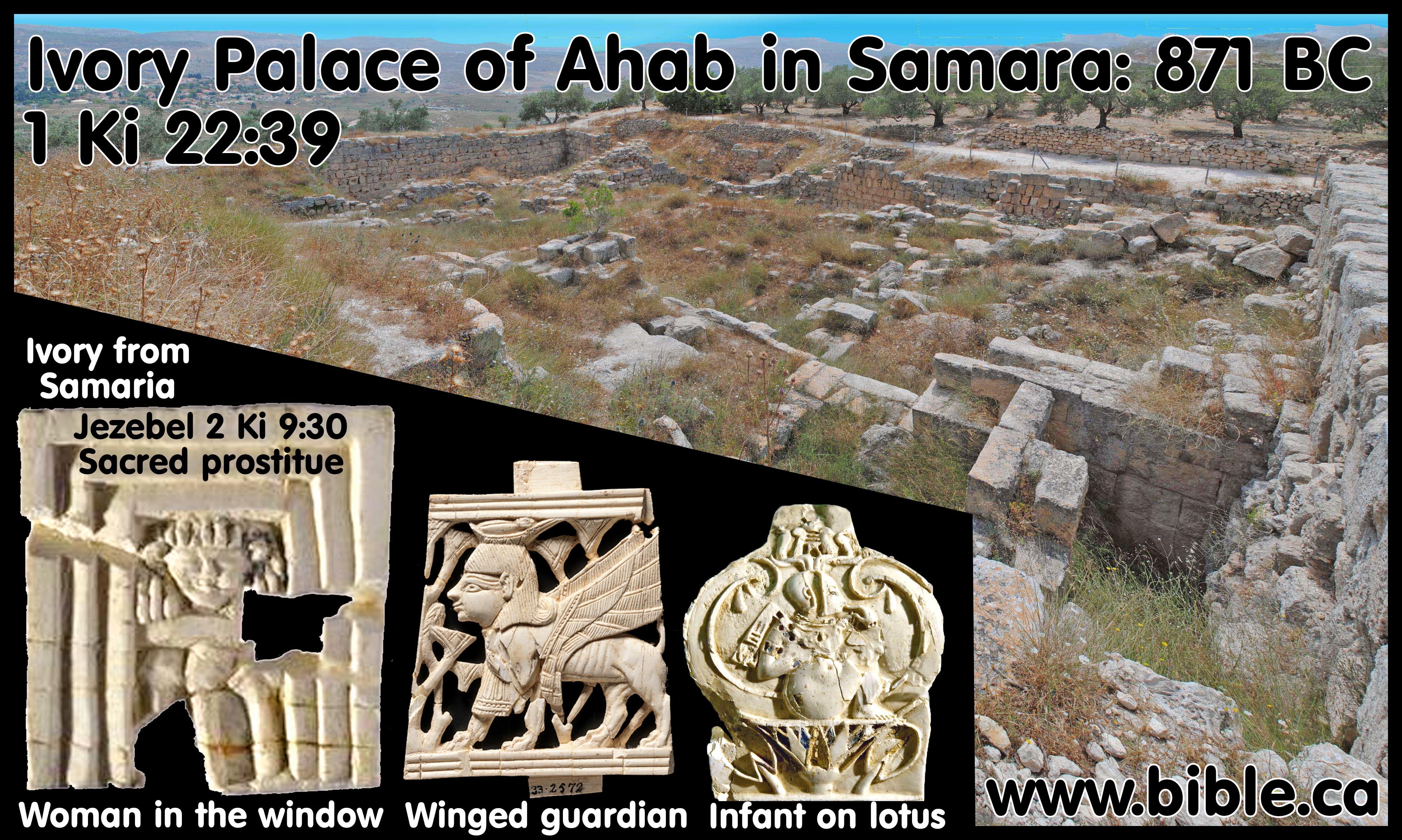 Elijah and Elisha Chronology timeline 870-810 BC