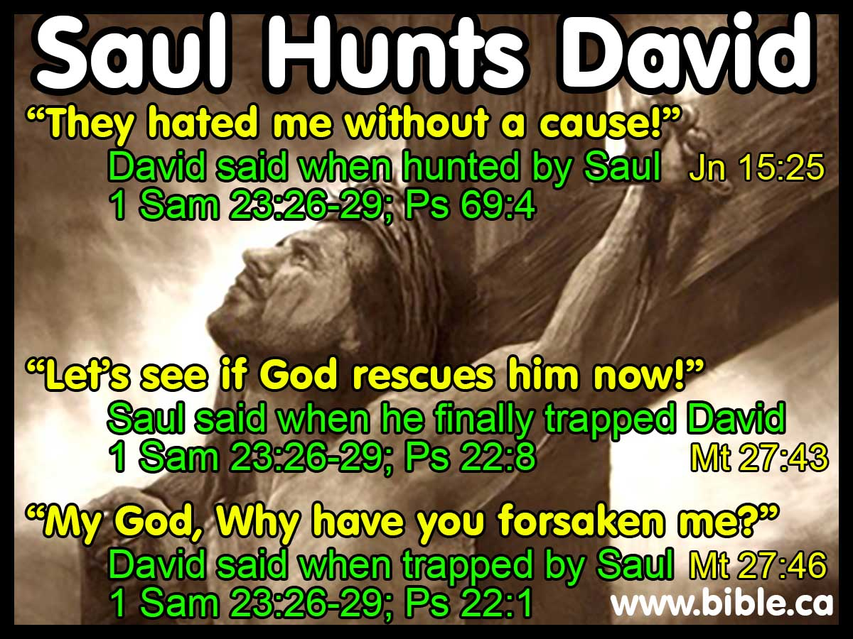 New Saul Hunts David. Timeline, maps, chronology, sermons of Judges, 1  WH55