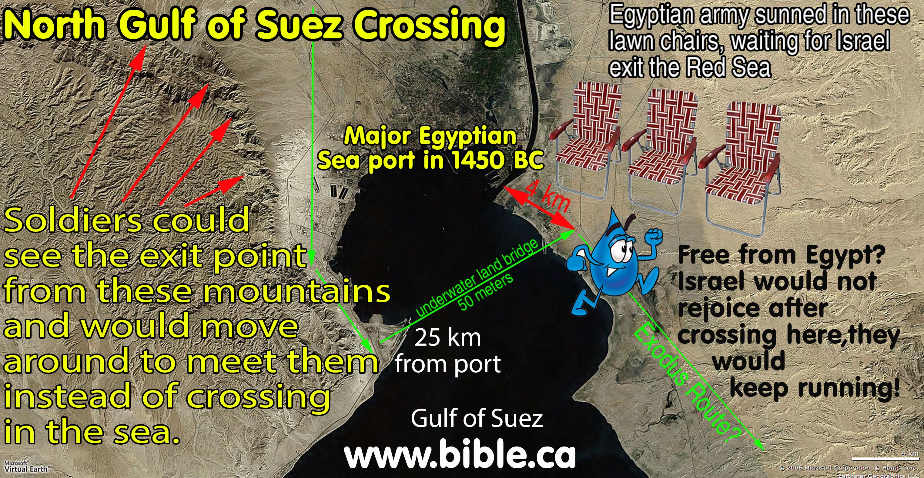The Exodus Route A Scriptural Proof With The Witness Of History - Map of egypt during exodus