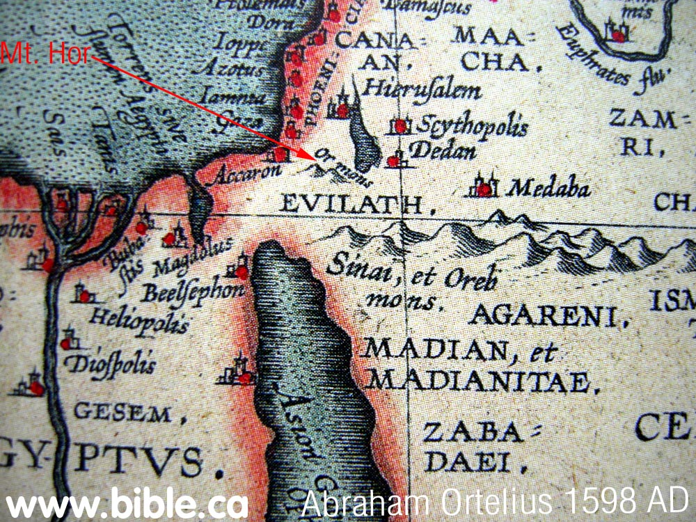 Bible Maps The Exodus From Egypt BC - Map of egypt during exodus