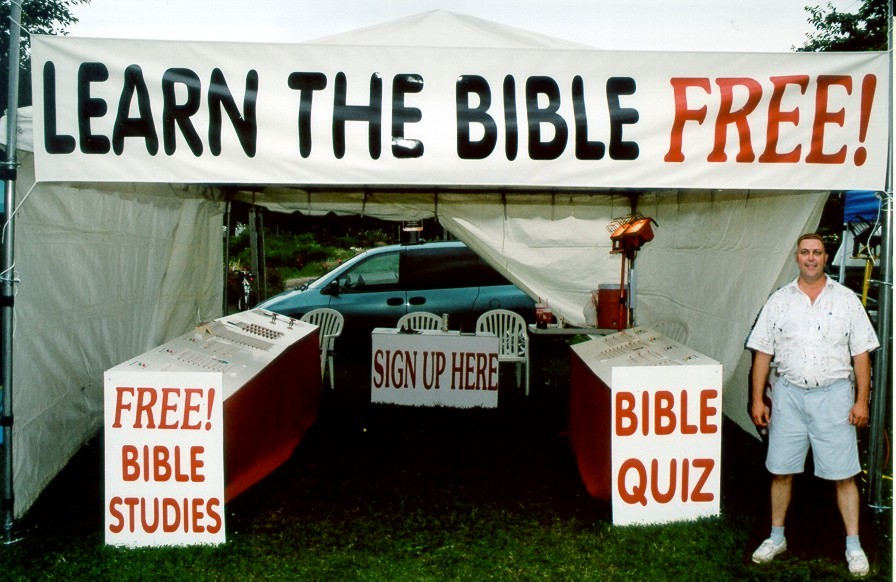 Bible Quiz: 100's of questions for Outdoor Fairs & Home Shows