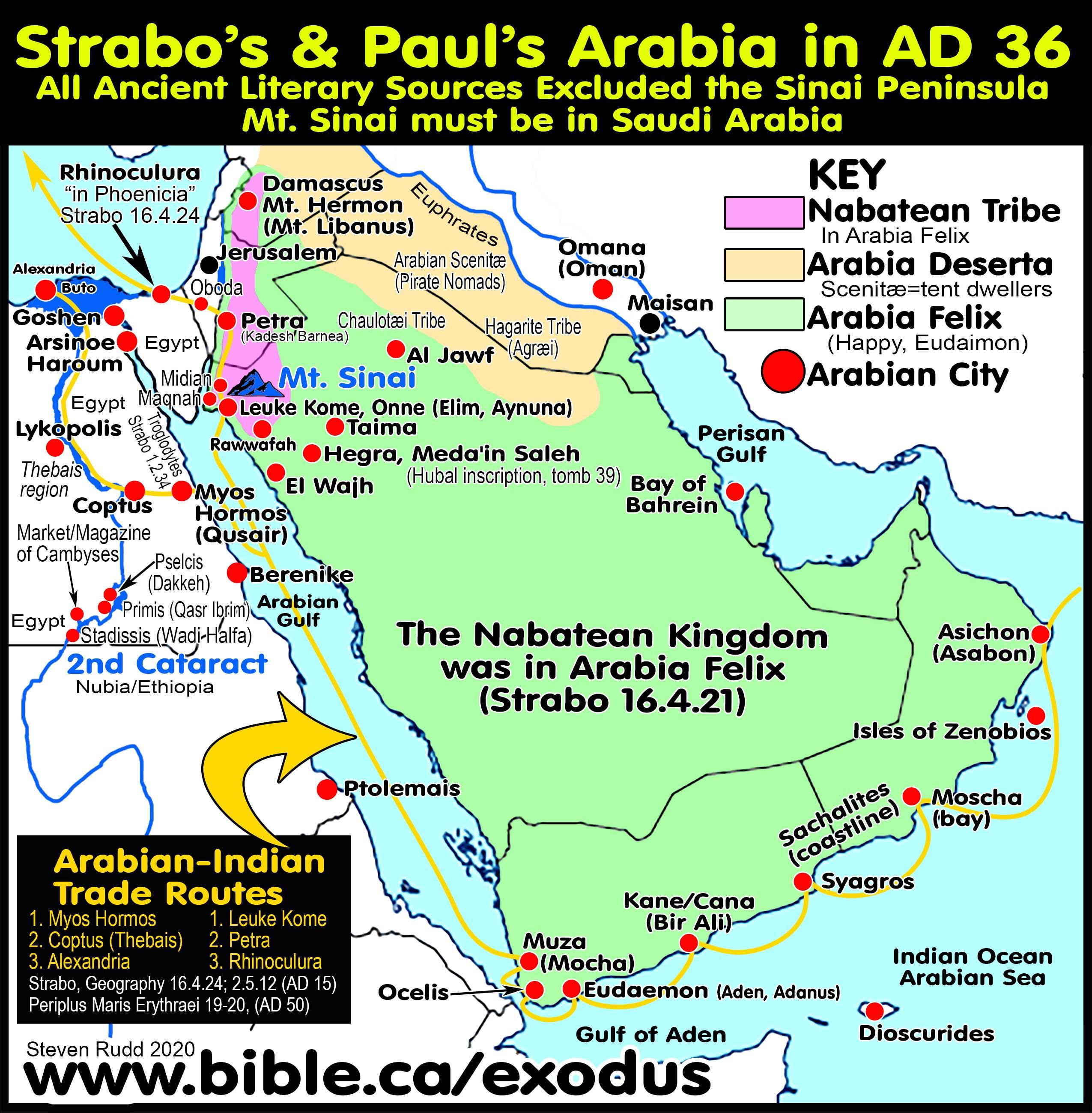 Picture of: Mt Sinai Located In Arabia Galatian 4 25