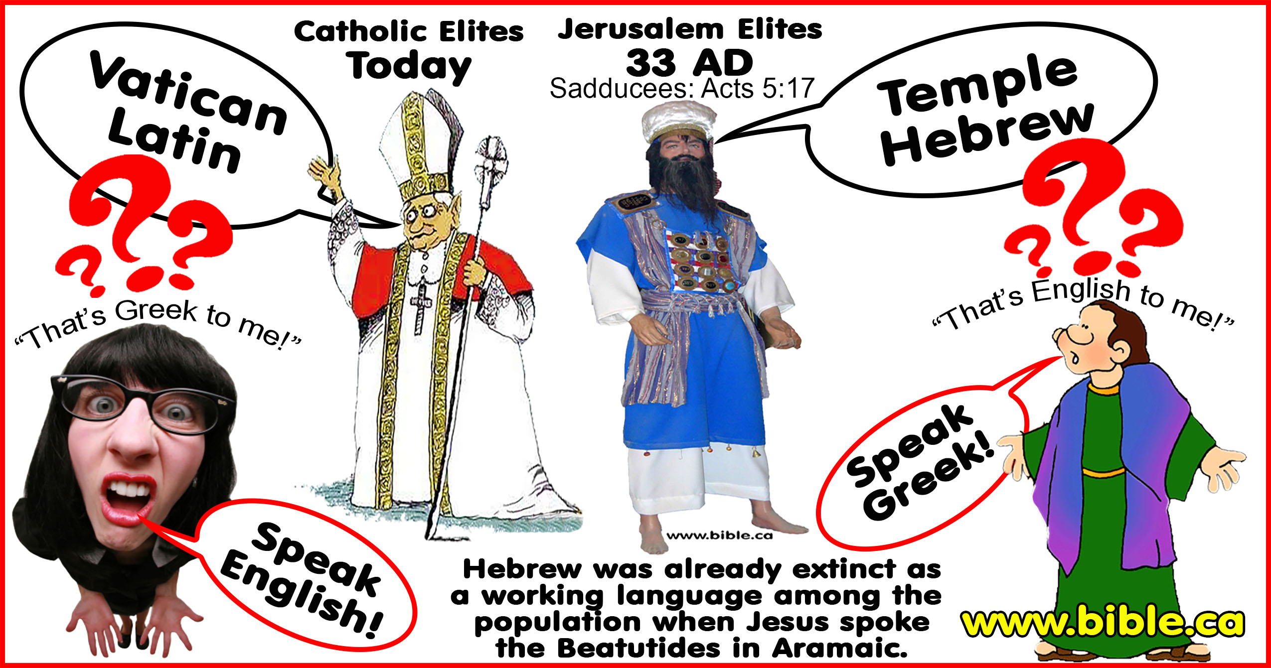 bible roman english