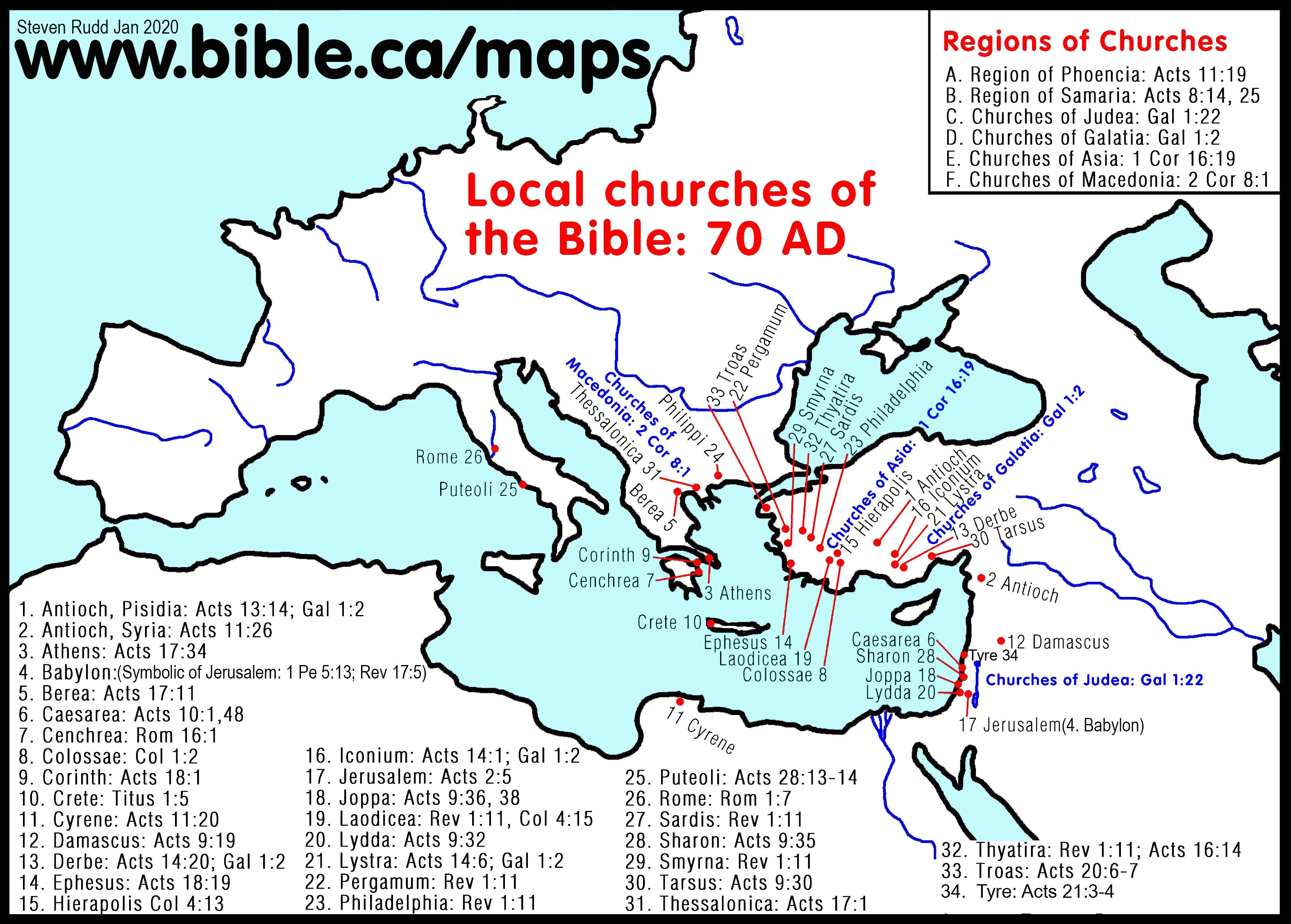 100 Free Printable Public Use Bible Maps