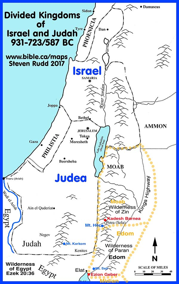 Free Bible Maps Of Bible Times And Lands Printable And Public Use - Israel maps