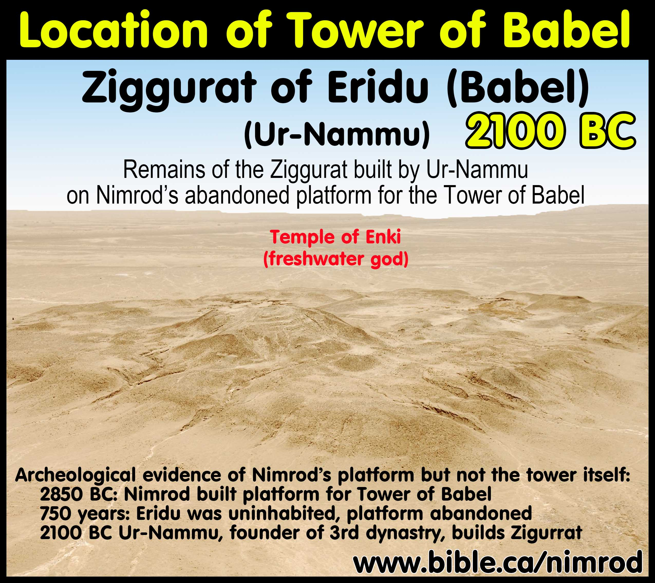 Nimrod and the Archaeology of the Tower of Babel by Steven