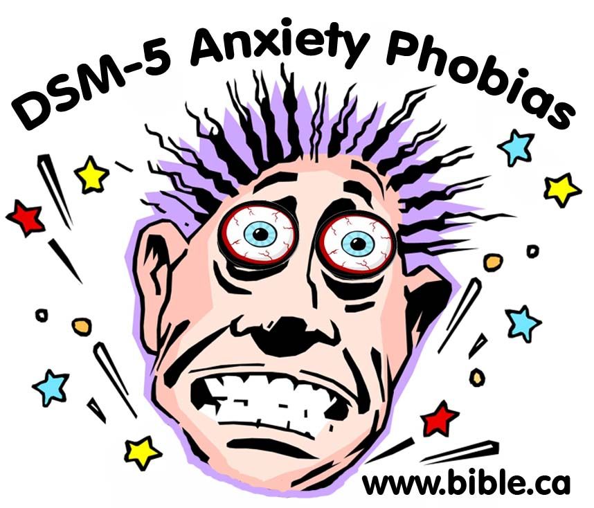 Anxieties Phobias: Anxiety And Depression Are Not Caused From Chemical