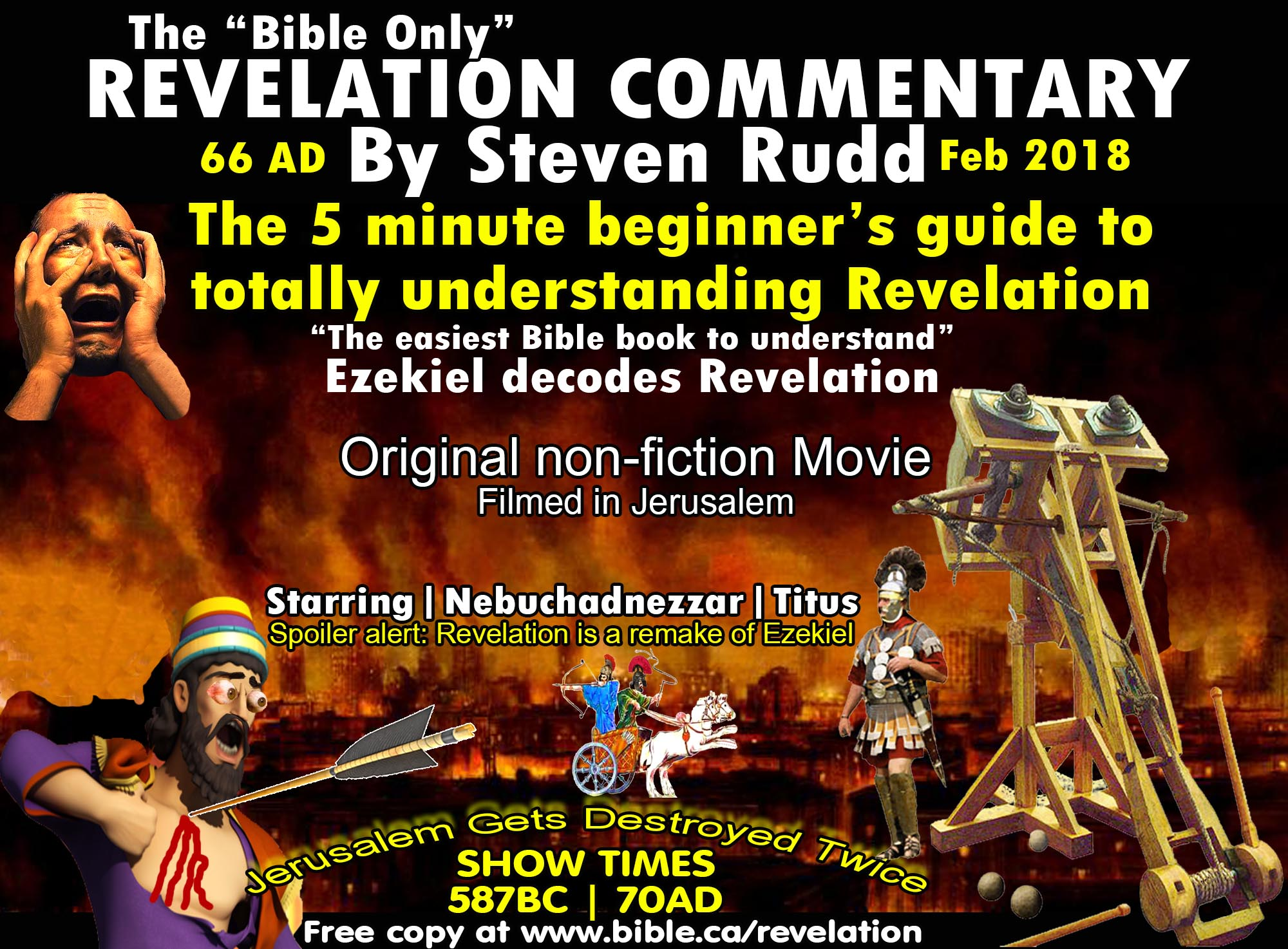 Bible Only Revelation Commentary by Steven Rudd